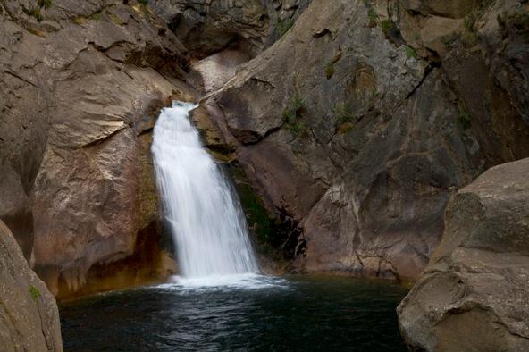 Roaring River Falls in Kings Canyon National Park, California, USA