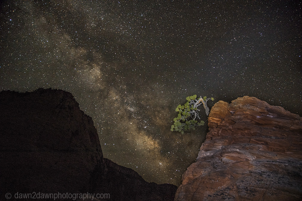 Some More Zion Milky Way Images