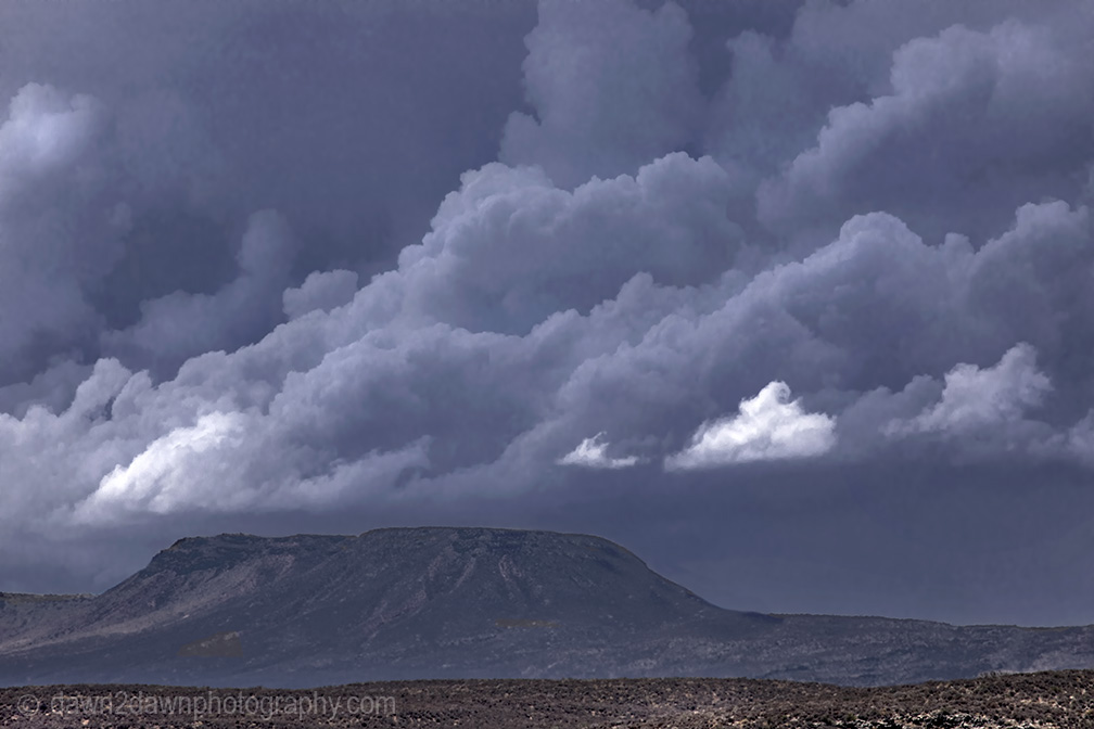Some Really Billowy StormClouds