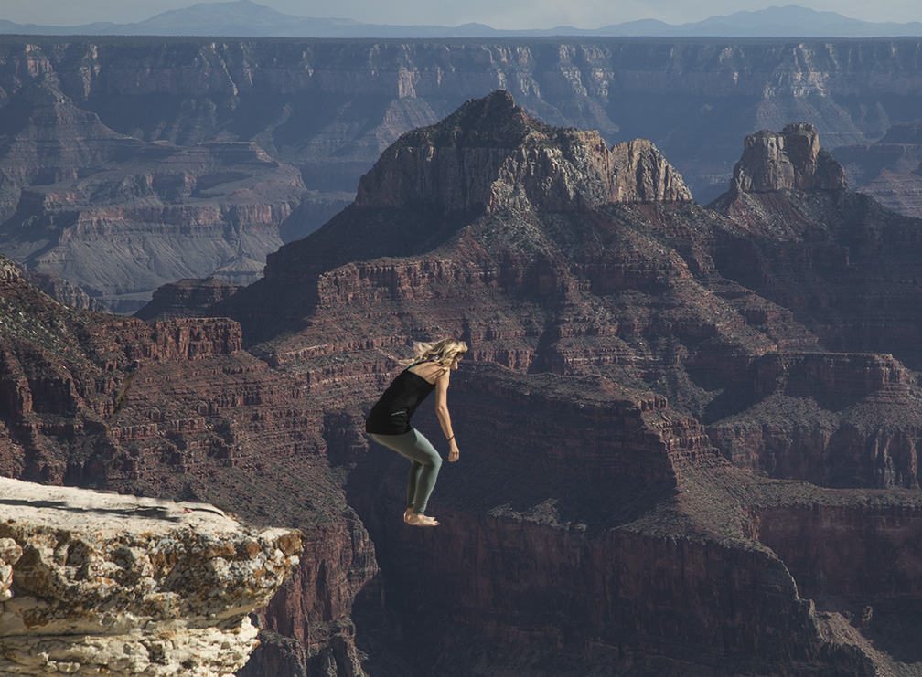 Fun With Photoshop At The Grand Canyon
