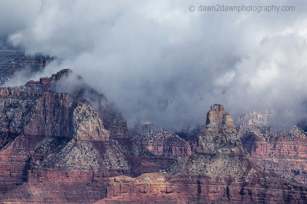 Winter Has Arrived AT The Grand Canyon