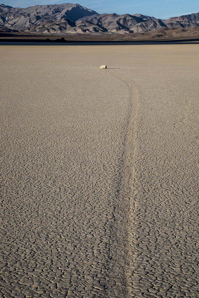 Death Valley NP's Racetrack Playa