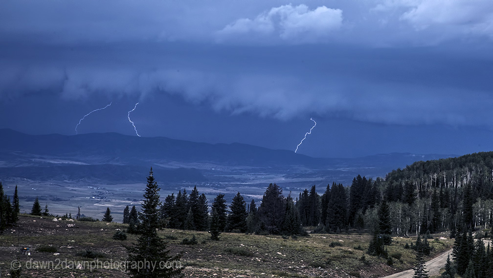 Time Lapse Video- Colorado Lightning Storm