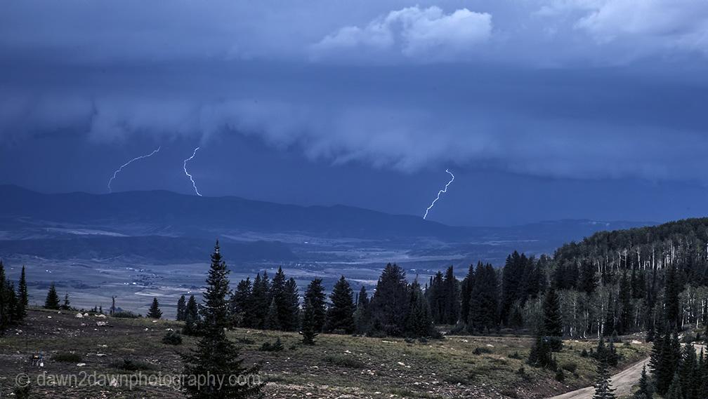Time Lapse Video- Colorado LightningStorm