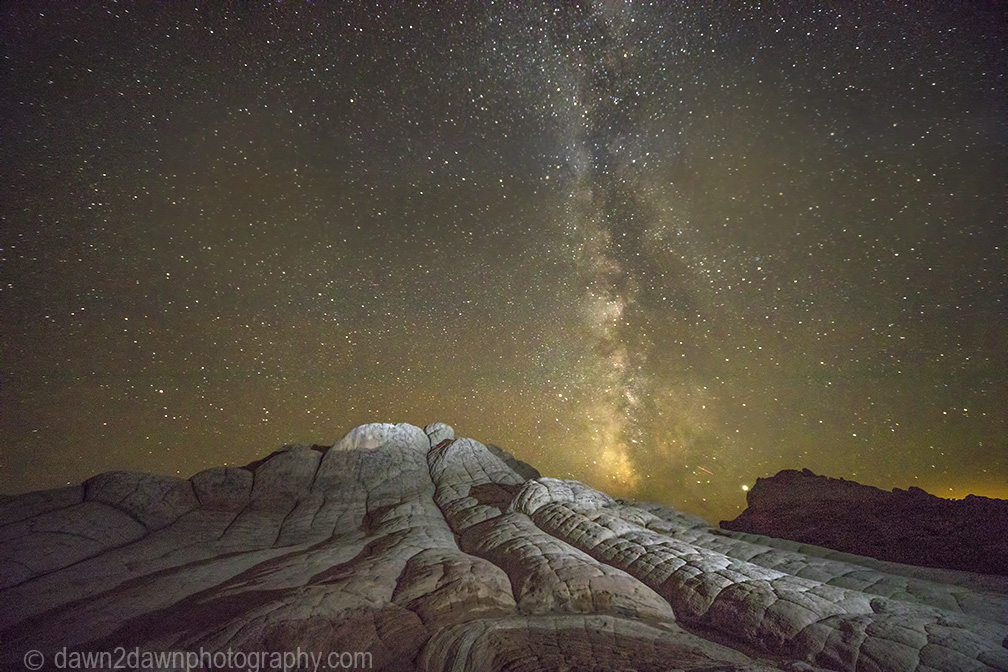 Milky Way Images From White Pocket