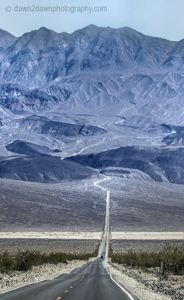Two Images From Death Valley