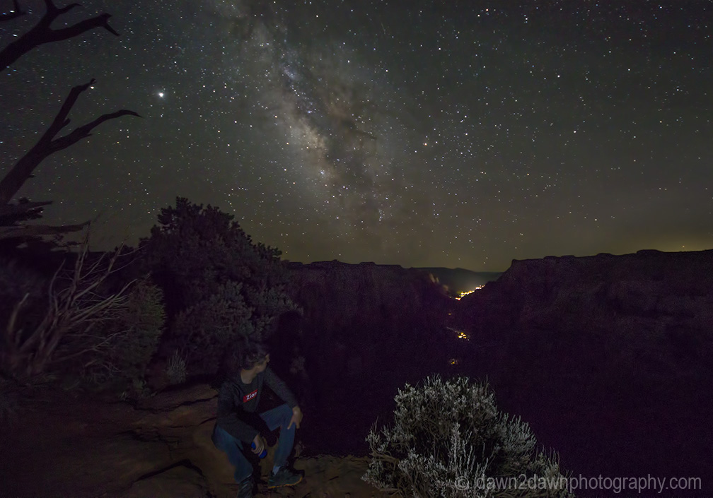 Milky Way Over Zion National Park