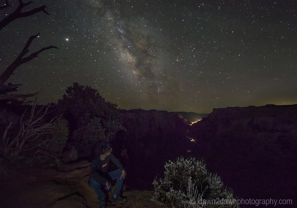 Milky Way Over Zion NationalPark