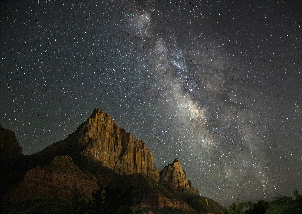 On A Clear Night With Dark Skies, The Milky Way ComesAlive